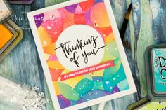 Hello crafters, its Nina-Marie Trapani here, bringing a new Studio Monday video to you that features some fun, Distress Oxide … Simon Says Stamp Blog, Miss You Cards, Interactive Cards, Card Tutorials, Video Tutorials, Vinyl Paper, Card Companies, Distress Oxide Ink, Card Maker