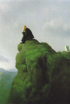 The thinker - Michael Sowa