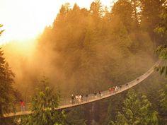 so beautiful-Capilano Suspension Bridge, Vancouver, British Columbia, Canada