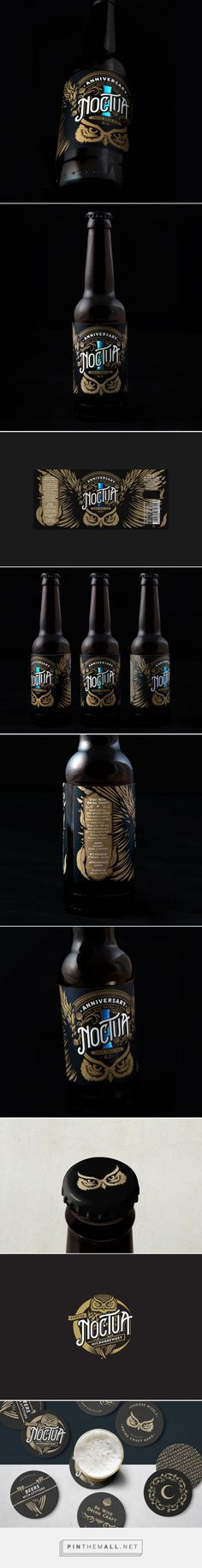 Noctua One Year Anniversary IPA - Packaging of the World - Creative Package Design Gallery - http://www.packagingoftheworld.com/2018/01/noctua-one-year-anniversary-ipa.html