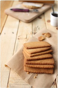 Archives des Biscuits secs - Page 8 sur 14 - chefNini Biscotti Cookies, Tea Cookies, Cookie Recipes, Dessert Recipes, Nutella Recipes, Desserts With Biscuits, Food Obsession, Love Food, Sweet Recipes