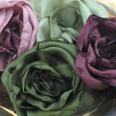 Dubois fabric roses tutorial