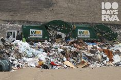 How can #trash and #landfills help a city?