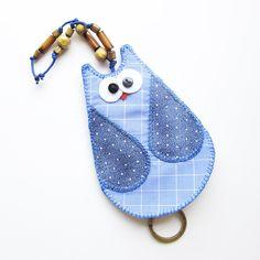 chaveiro corujinha - esconde-chave