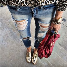 leopard + gold :: shalice noel's instagram