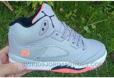 "best authentic f9c2c e18bf Discount Kids Air Jordan 5 ""Hot Lava"" Basketball Shoes"
