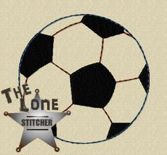 Soccerball Over Sized: The Lone Stitcher
