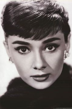 A wonderful portrait poster of Audrey Hepburn - one of the most beautiful women in the history of Hollywood! Fully licensed. Ships fast. 24x36 inches. We have a fantastic selection of Audrey Hepburn p