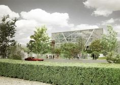 Preliminary rendering of the new ICA Miami in the Design District, designed by Aranguren & Gallegos. COURTESY ICA, MIAMI