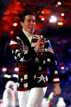 Sochi 2014 Opening Ceremony | Serafini Amelia| #teamUSA Shaun White #sochi2014 Winter Olympics 2014