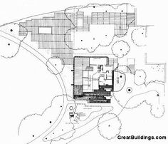 Great Buildings Drawing - Finnish Pavilion, 1937