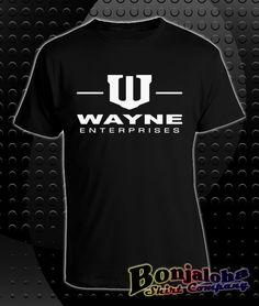 Batman - Wayne Enterprises Logo (Nolan Film Version) (T-Shirt) - Outlaw Custom Designs, LLC