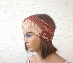 Strechy headband headband fabric headband by KnitterPrincess, $6.50