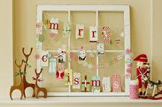 Amazing Christmas memo board. -38 Last-Minute Budget-Friendly DIY Christmas Decorations