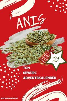 Hinter Türchen 21 meines Gewürz Adventskalenders verbirgt sich der Anis. Ich verrate dir die Wirkung von Anis sowie ein geniales Rezept in der Podcast-Folge vom Gewürz Adventskalender. #anis #gewürzadventskalender #weihnachten #adventskalender
