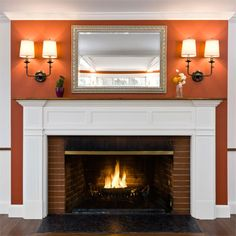 At the Auburndale project, bright colors and crisp woodwork replaced dark paneling.| Photo: Michael Casey | thisoldhouse.com