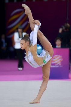 Alexandra SOLDATOVA (Russia) ~ Ball @ EC Budapest-Hyngary ☺️☺️ Tamas Robert Morvai.
