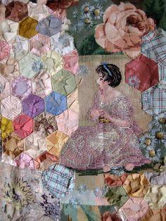 Mandy Pattullo. Love her textile art! It's featured on My Paisley World http://mypaisleyworld.blogspot.com/