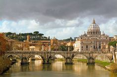 An Autumn Morning in Rome by David Darakjian #monogramsvacation
