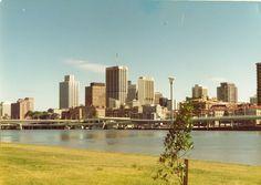 Australian Photography, Brisbane City, The Good Old Days, Historical Photos, Seattle Skyline, Old Photos, San Francisco Skyline, History, Ancestry