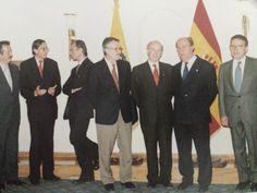 Despedida del Director Dn. Ignacio Vallejo el 4 de Abril del 2002 en el Swiss Hotel