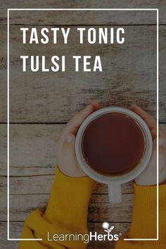 Tasty Tonic Tulsi Tea Herbal Remedies For Arthritis, Herbal Remedies For Anxiety, Best Matcha Tea, Basil Tea, Tulsi Tea, Tea For Colds, Best Herbal Tea, Best Green Tea, Peppermint Tea