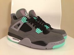 "Air Jordan 4 ""Green Glow"" Releasing in August http   www. 61ddda853"