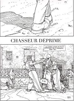 Chasseur deprime
