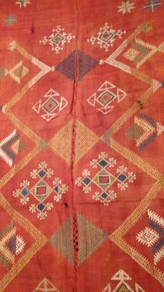 Fine Antiques & Art from WOVENSOULS - Singapore 683 Antique Indian Textile - Bishnoi Shawl Textile Art Embroidery Rajasthan Amazing Colors and motifs in this Rare Bishnoi Shekhawat Shawl from Rajasthan Some fading & signs of wear. Estimated to be from the first quarter 20th century #art #textiles #cloth #handmade #traditional #fabric #antique #Asian #vintage #cultural #RajasthanTextile #INDIA