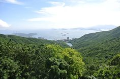 """The """"other"""" side of Hong Kong Island viewed from Victoria Peak [OC] [30982074]"""