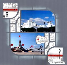 Sidi Bou Said, Bombay, 2 Photos, Simple, Culture, Art, Template, Page Layout, Art Background