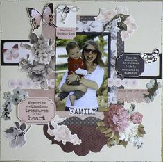 Project Portfolio, Hello Everyone, Pattern Paper, Scrapbooking Ideas, Centre, My Photos, Blog, Layout, Stickers