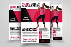 23 best 20+ Fitness Flyer Template PSD for Fitness Center, Gym and ...