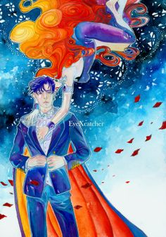 Sailor Moon / Queen Beryl and Prince Endymion (Mamoru)