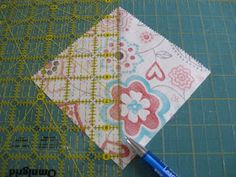 Happy Quilting: Happy Quilting Quilt-A-Long Corner Instructions
