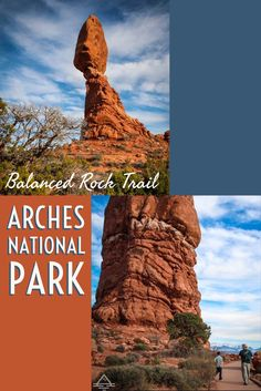 You won't want to miss the easy, family friendly trail in Arches National Park near Moab, UT.