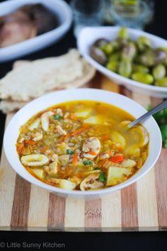 Best soup ever! Russian Buckwheat Soup