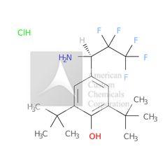 4-[(1R)-1-AMINO-2,2,3,3,3-PENTAFLUOROPROPYL]-2,6-DI-TERT-BUTYLPHENOL HYDROCHLORIDE is now  available at ACC Corporation