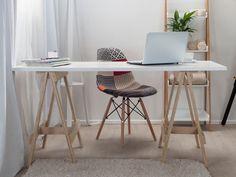 Mocka Trestle Desk