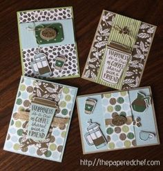 Cards Created with the Coffee Break Suite