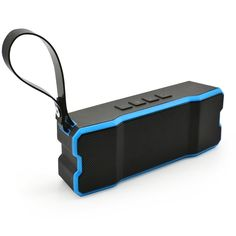 IPX7 Waterproof Wireless Bluetooth Speakers - PerryLee Portable Smart Bluetooth 4.0 Speakers Handfree Call Outdoor Hiking Cycling Traveling Speakers (blue). IPX7 waterproof :Waterproof, dust-proof, shockproof, rugged design for harsh environment. Multi - functions: Support micro card below 32 GB. Built-in mic for hands-free calls,. Bluetooth 4.0 connection- Universal compatibility with Android and iPhone tablets, smartphones, iPods and other Bluetooth enabled digital players. . Long usage...