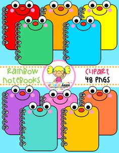 Notebooks Clipart for teachers