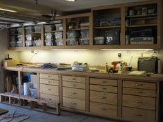 Garage Shelving Ideas: Best Way to Organize Your Stuff: Garage Shelving Ideas With Drawer Cabinet – Fortikur