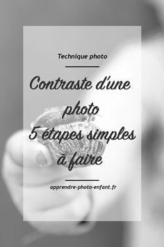 Dans la plupart des cas, les images sortant de nos appareils photo manquent de peps. Souvent, il suffit simplement d'accentuer le contraste d'une photo pour la sublimer. Cliquez ici pour découvrir 5 étapes toutes simples à appliquer pour obtenir des images contrastées.