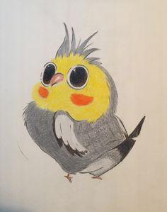 #drawing #bird #cartoon
