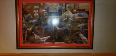 "A member of our customer community shared this image. They purchased ""Change for a Dollar"" by Frank Morrison from our website and had it framed for there home. Thanks for sharing!..."