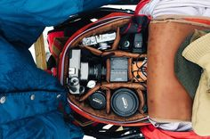 """An envy-inducing camera bag...""""Adventure #87: The Last Best Place, Shot by Jesse Lenz"""""""