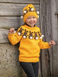 "1906-1 ""Harepus""-genser og lue Norway, Vikings, Winter Hats, Fashion, Threading, The Vikings, Moda, Fashion Styles, Fashion Illustrations"