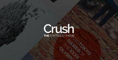 Crush - The Portfolio Theme - Portfolio Creative