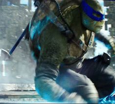 "bluesakurablossom: ""mondogecko: "" ""This is Leonardo. "" "" My beautiful Bushido 💙💙💙💙 "" Ninja Turtles 2014, Teenage Mutant Ninja Turtles, Tmnt Wallpaper, Tortugas Ninja Leonardo, Tmnt Leo, Leonardo Tmnt, Dark Men, Tmnt 2012, Turtle Love"